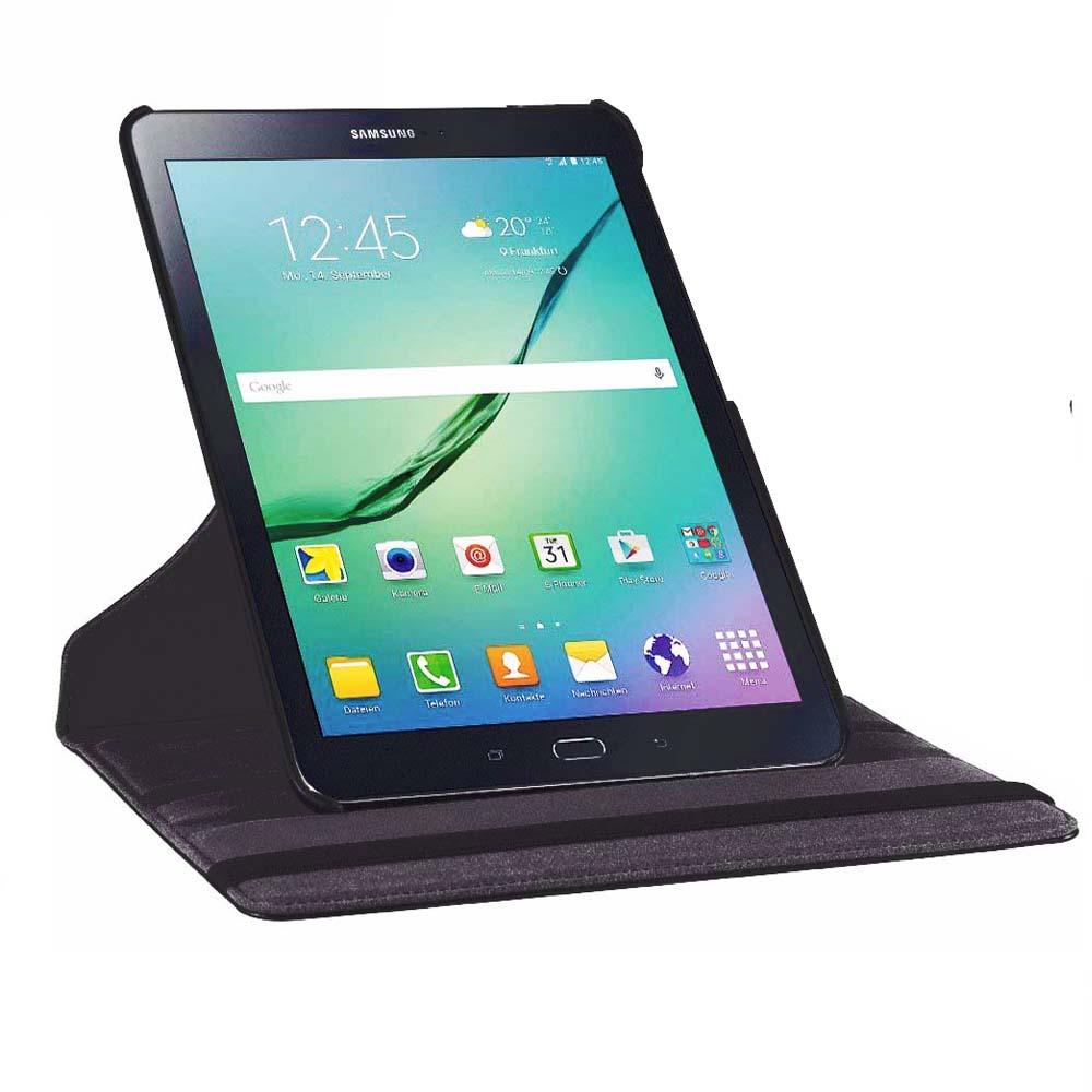 Tab S2 SM-T810 T813 T815 T819 ümbris Luxury 360 pöörlev Smart - Tahvelarvutite tarvikud - Foto 3