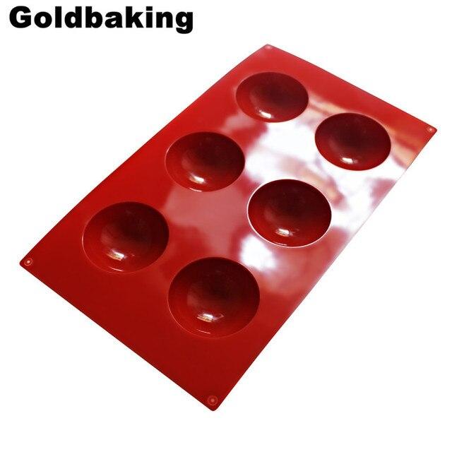 6 Cm Durchmesser Halbkugel Silikonform Muffin Backblech Kuchen Form