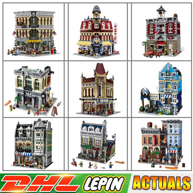 Compatible LegoINGlys Lepin 15001 15001 15002 15003 15004 15005 15006 15007 15008 15009 15010 15011 15012 Blocks Brick Toys конструктор lepin брик банк 2413 дет 15001