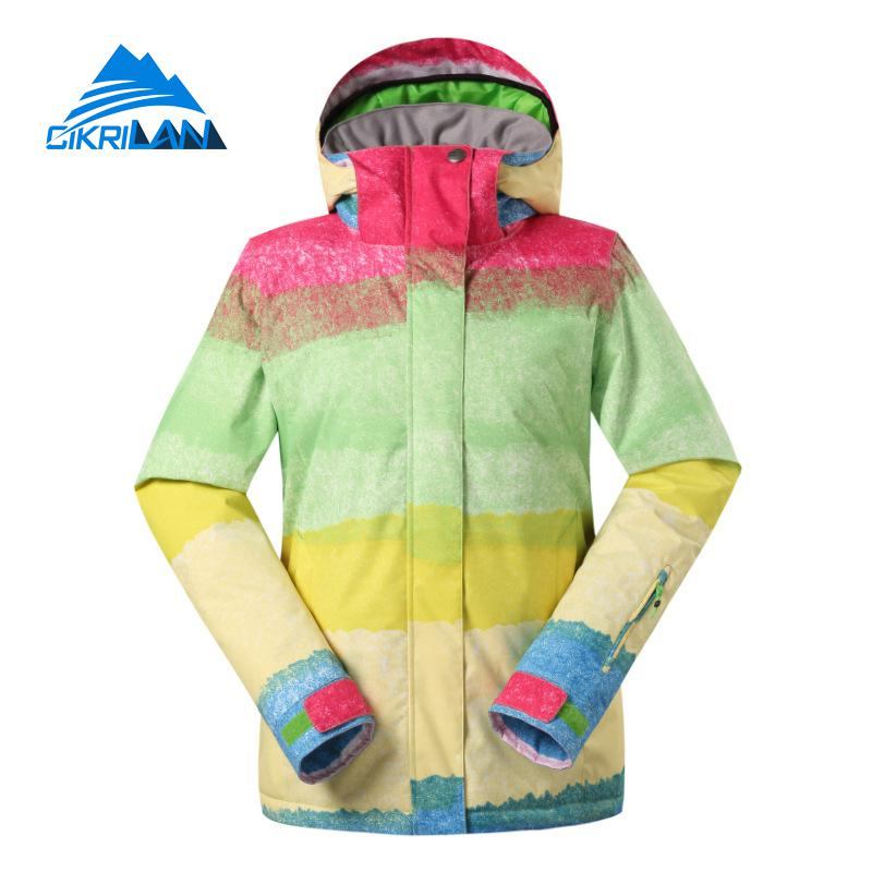 New Womens Warm Winter Waterproof Snowboard Ski Jacket Women Windbreaker Snow Jackets Outdoor Coat Casacos De Inverno Feminino цены онлайн