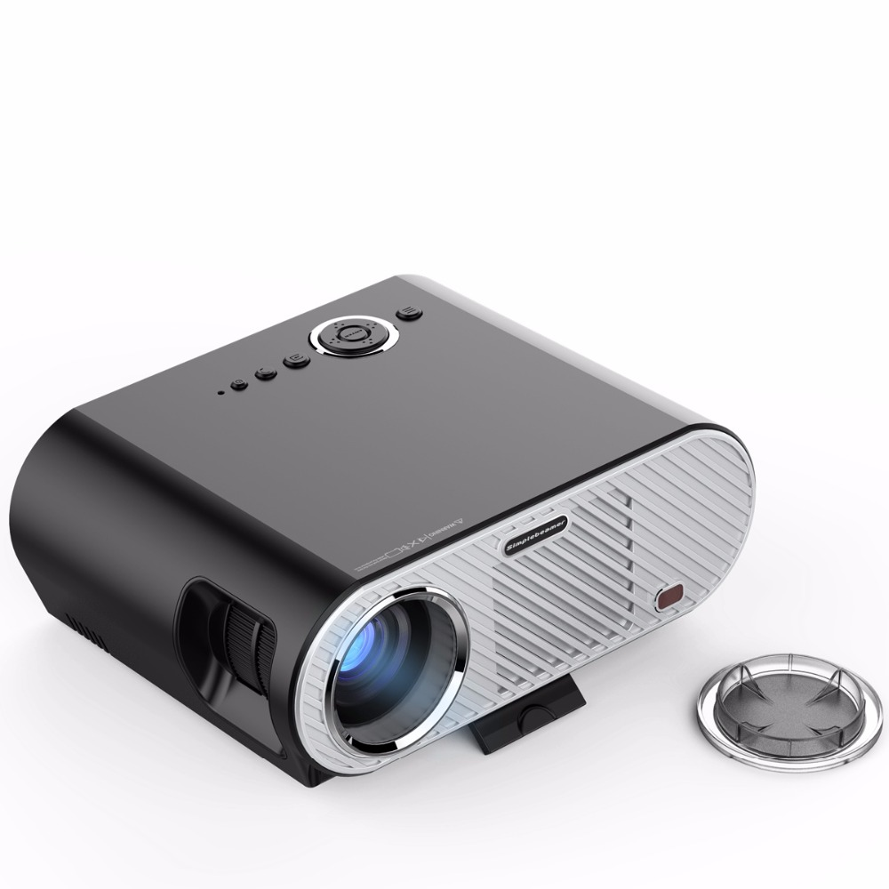 Portable android projector 3200 lumens 1280 800 resolution for Portable projector reviews