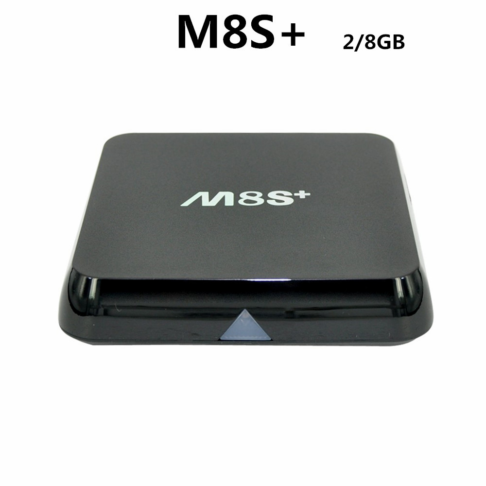 KODI M8S Plus android tv box 2GB/8GB Amlogic S812 quad core android 5.1 iptv media player 4K 2.4G/5G set top box original m8s android tv box amlogic s812 quad core gpu mali450 2g 8g kodi xbmc media player 2 4g 5g wifi with air mouse keyboard