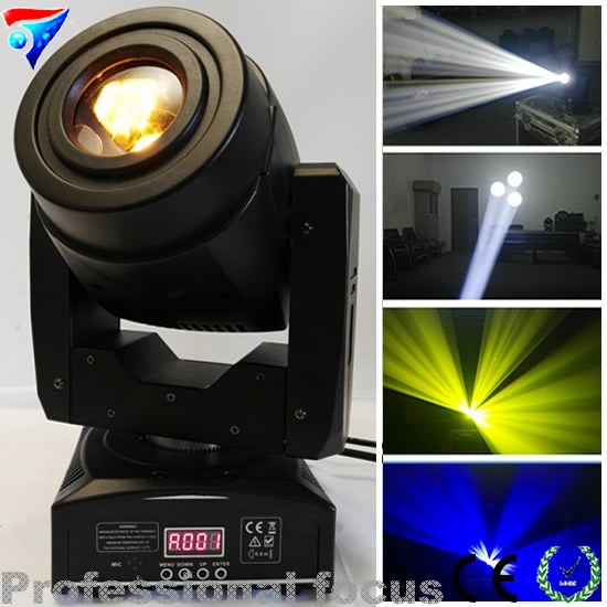 Free Shipping 2cps/lot 60W LED Spot Stage Light Movin Head For Wedding Birthday DJ Stage Disco