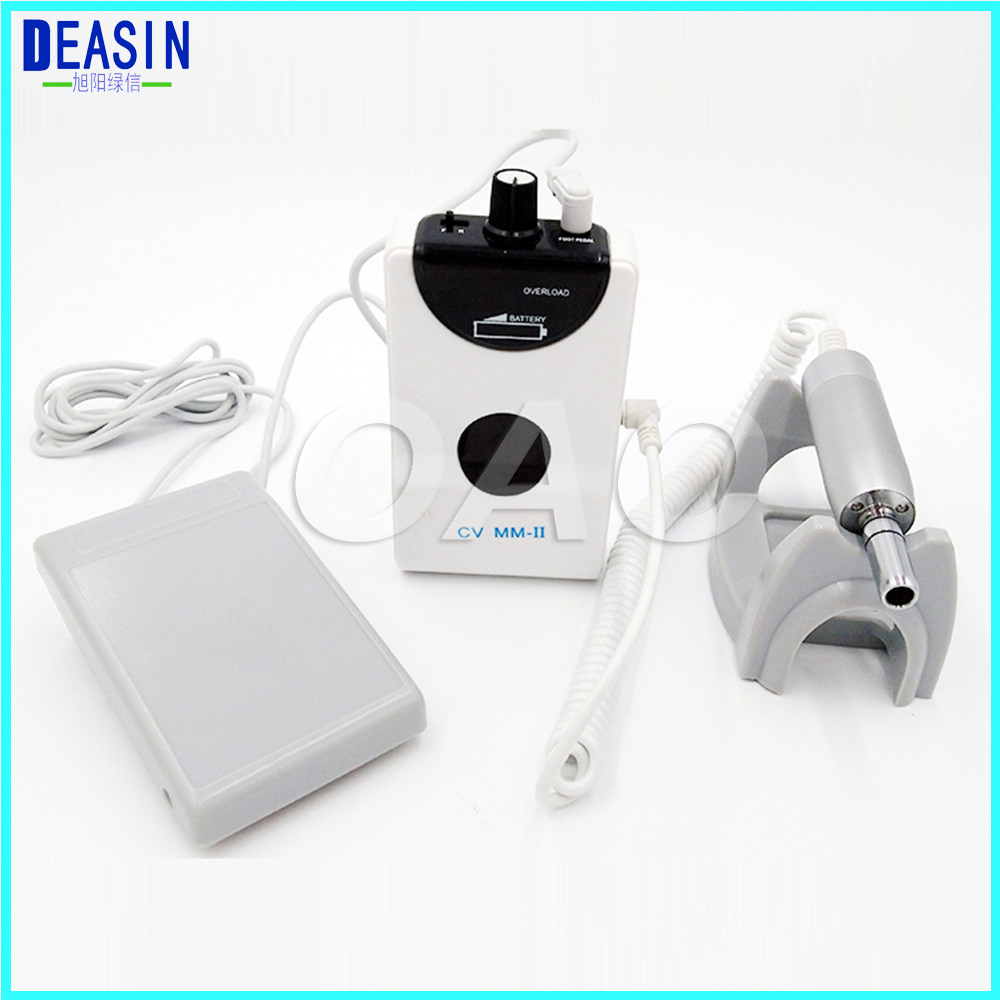 Dental portable mini Micro motor Brushless Machine Dental Lab portable 50,000 RPM Micromotor Brushless grinding Machine dental lab micromotor 204 control box clinical motor dental micro motor series