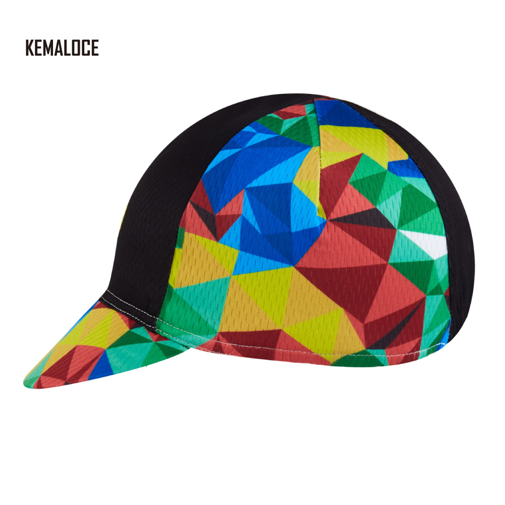 00a8ec447e9 Aliexpress.com   Buy KEMALOCE 2018 Cross New Design Racing Promotional  Headset Mesh 5 Panel Cheap Bike Cap Cycling Cap from Reliable bike cap  suppliers on ...