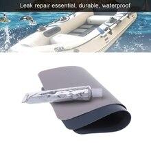Надувная лодка бассейн ПВХ прокол ремонт патч клей комплект 30 мл клей каноэ высокое количество поплавок надувная кровать лодки