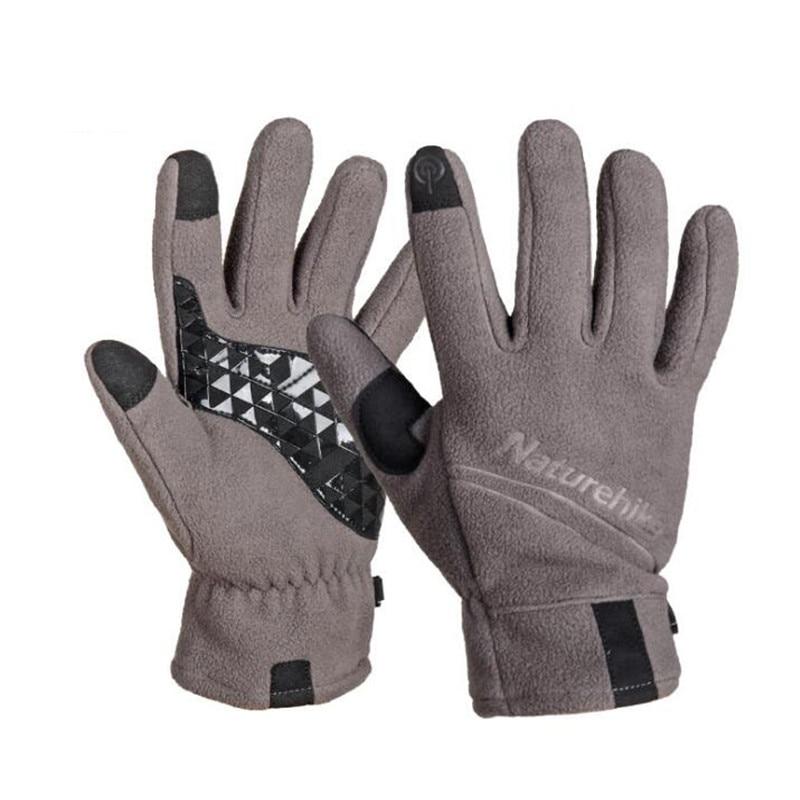 DICHSKI 2018 New Warmer Full Finger Ski Gloves Women Men Skiing Snowboard Riding Winter Windproof Unisex Palms Thickened Gloves