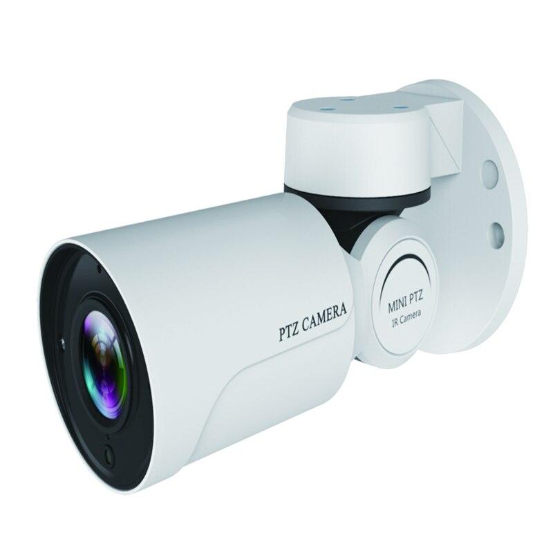 2MP IP PTZ Caméra Bullet 1080 p Full HD ONVIF P2P 4X Optique Zoom IP66 Étanche 50 m IR Nuit vision Caméra IP Mini PTZ Extérieure