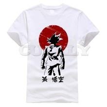 2019 new T-shirt Print Dragon Ball Large size vegeta Black And White SON GOKU Cotton Funny t shirt Cute Clothing