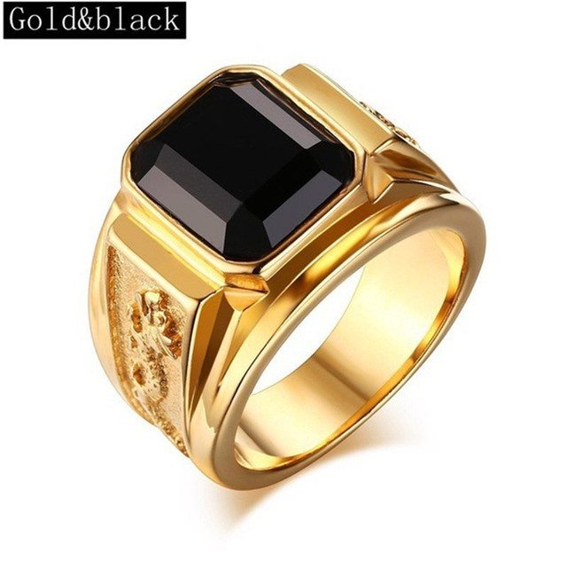 6colors Mens Signet Rings Gold Ring Alloy Engraved Dragon Vintage Fashion Wedding Band Simple Jewelry Ring Male Engagement Rings Aliexpress