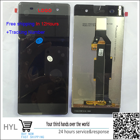 ФОТО Original quality Touch screen digitizer+LCD display with frame For Sony Xperia XA F3111 F3113 F3115fast shipping tracking number