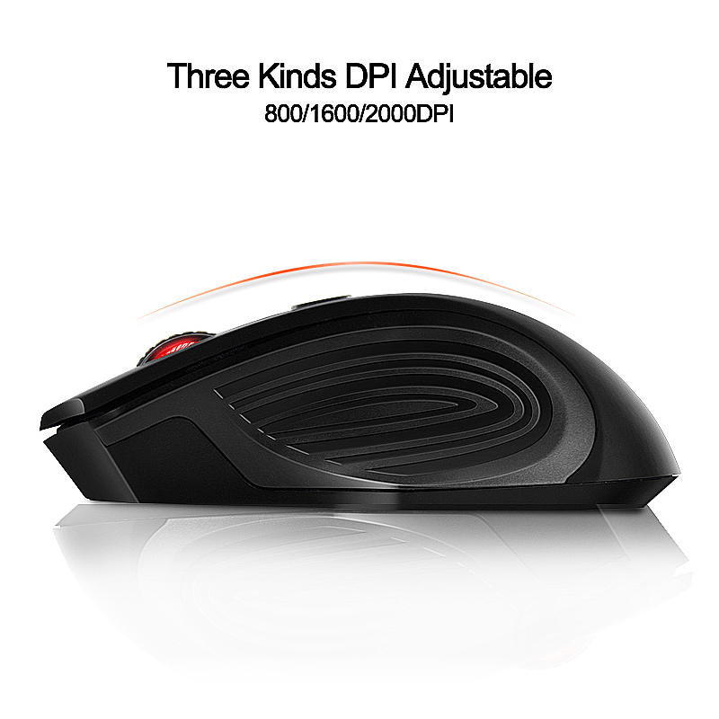 Wireless Mouse 4 Buttons 2000DPI Mause 2.4G Optical USB Silent Mouse Ergonomic Mice Wireless For Laptop PC Computer Mouse 3