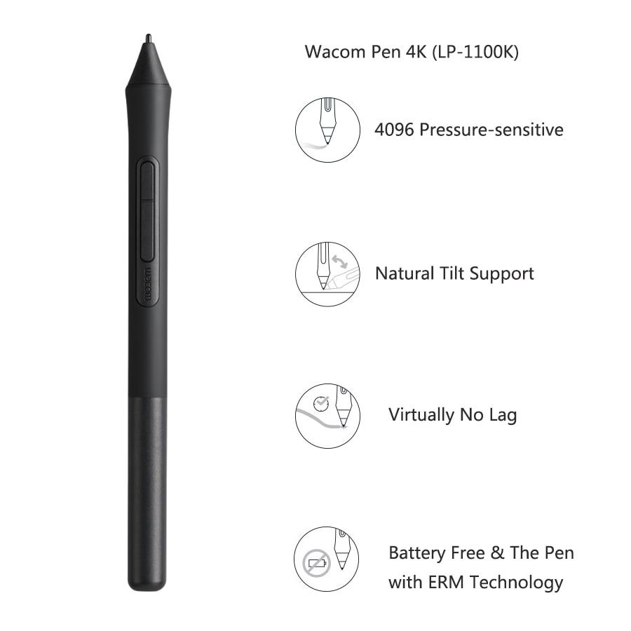 US $101 2 26% OFF|Wacom Intuos CTL 4100 Digital Tablet Graphic Drawing  Tablets 4096 Pressure Levels +Free Bonus Software+ Gift Packs-in Digital