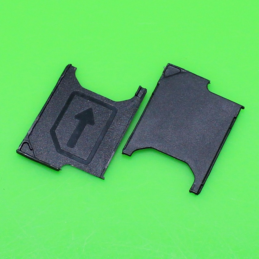 10 pcs/lot For Sony Xperia Z2 D6503 SIM Card Tray Holder Replacement for Sony Xperia Z2 D6503