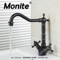 Faucet Kitchen Faucet Cozinha Torneira Oil Rubbed Black Bronze Swivel Deck Mounted 8632 8 Single Hole
