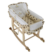 Removable Baby Cribs with Pillow Multifunctional Baby Cradle Infant Shaker Portable Playpen Crib High Quality Babybed