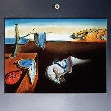 סלבדור דאלי ציור שמן הדפסת תמונה על בד אמנות פוסטר