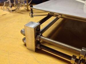 Image 5 - Imprimante 3D reprap mendel prusa CNC métal coin kit de support plus robuste reprap prusa i3 coin aluminium pièces ensemble