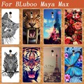 Мода МЯГКОЙ ТПУ paitning чехол Для BLuboo Майя Макс DIY цветные картины окрашенные дело чехол ДЛЯ BLuboo Майя Макс телефон Дело