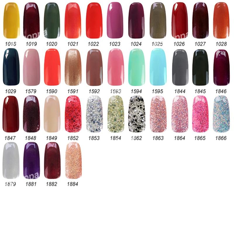 199 Colors Nail Polish Gel 15ml IDO 1531 Nail Art Paint UV Gel ...