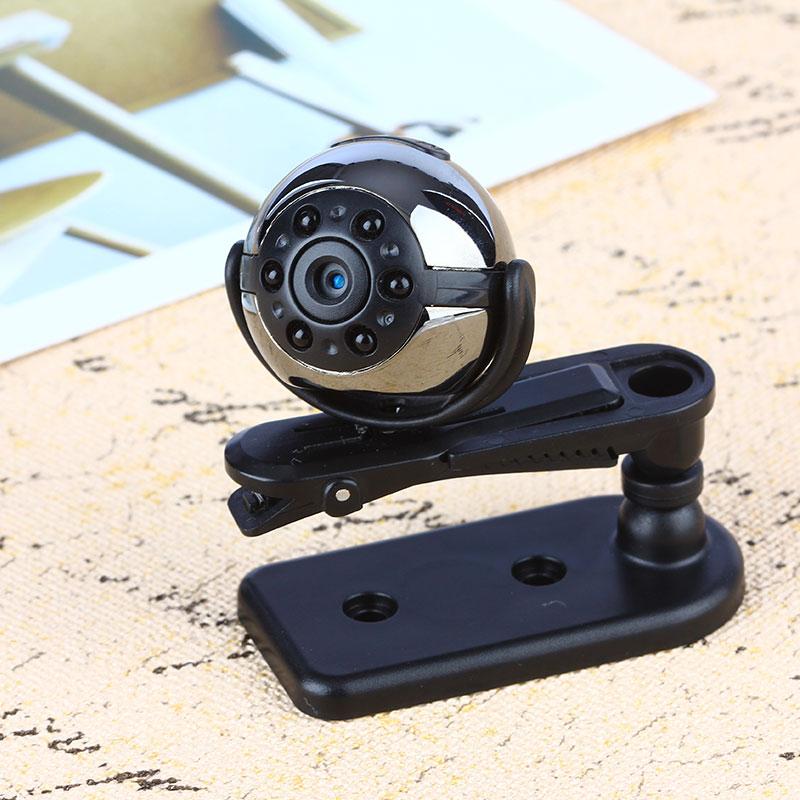 ET SQ9 Mini Camera 1080P HD Digital Camera Infrared Night Motion Detection Micro Camera 360 Degree Rotation Video Recorder Cam