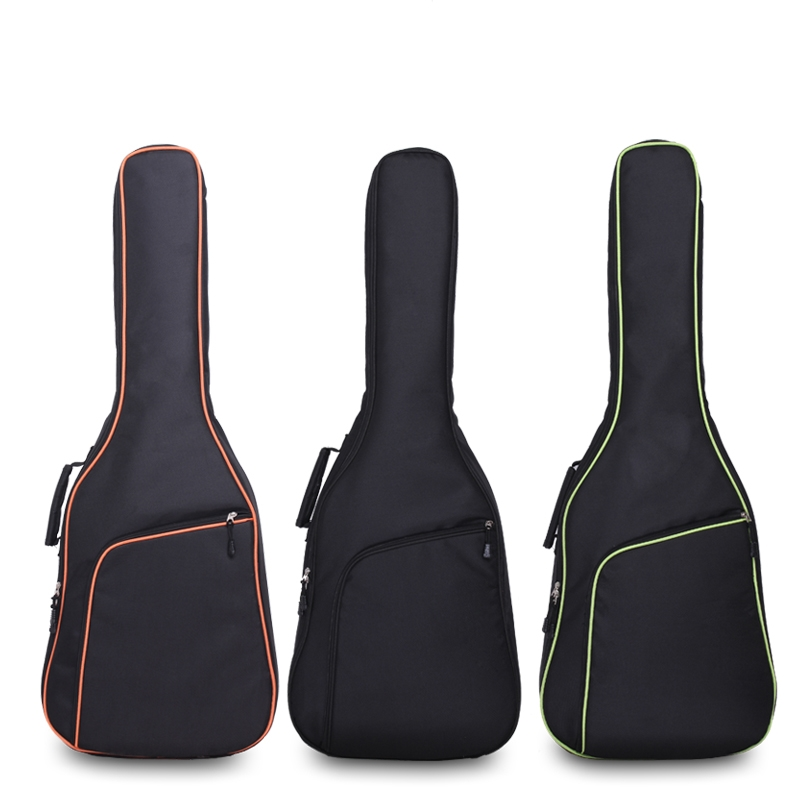 Guitar BThicken Folk Flattop Balladry Steel-string Acoustic Classical 36 38 40 41 Guitar Bag Case Backpack Accessories Carry Gig astraca deluxe brown black 40 41 acoustic guitar bag 600d nylon oxford guitar soft case gig bag 10mm thicken