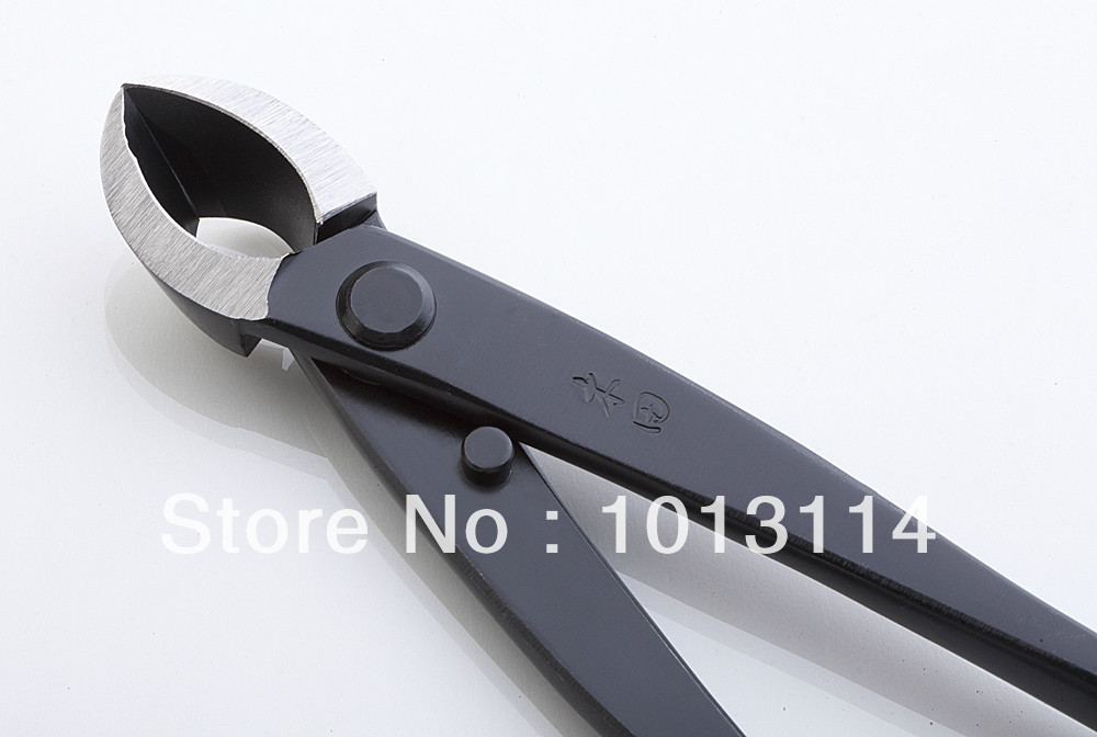 Tools : professional grade 205 mm branch cutter straight edge cutter High-Carbon Alloy Steel bonsai tools made by TianBonsai