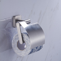 Residential toilet paper holder hotel project 304 stainless steel tissue holder roll paper toilet paper rack wall mount brushed