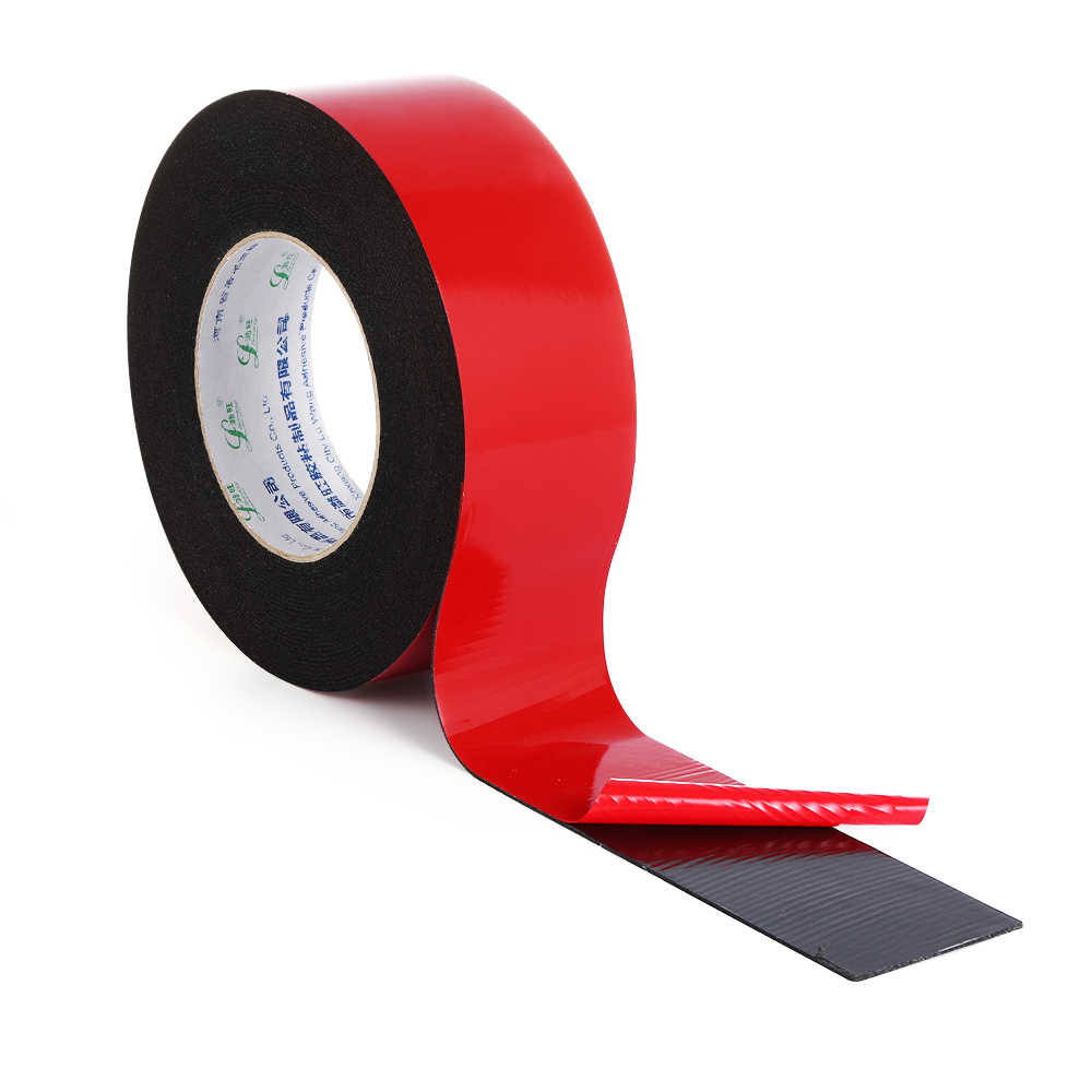 1PC 10m Strong Waterproof Adhesive Double Sided Attachment Acrylic Foam Tape For Car Trim Home Multi-Purpose Craft Supplies
