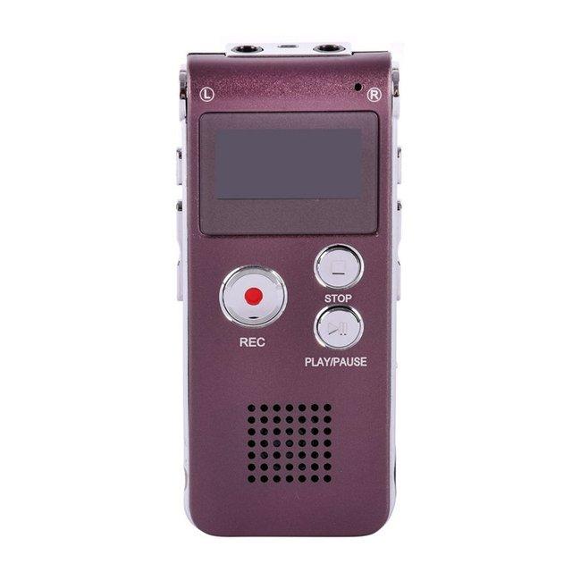 Recargable 8 GB de Audio Digital Grabadora de Voz Del Dictáfono Usb Caliente 7529