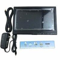 10.1 дюйма HD дисплей DIY ЖК дисплей Драйвер доска с экрана + Case 1280*800 для автомобиля Мониторы дисплей FPV системы антенна дисплей