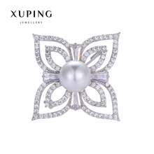 Xuping Elegant Synthetic CZ Diverse Styles Pearl Brooch for Mother's day Gift 2017 New 00086-7#