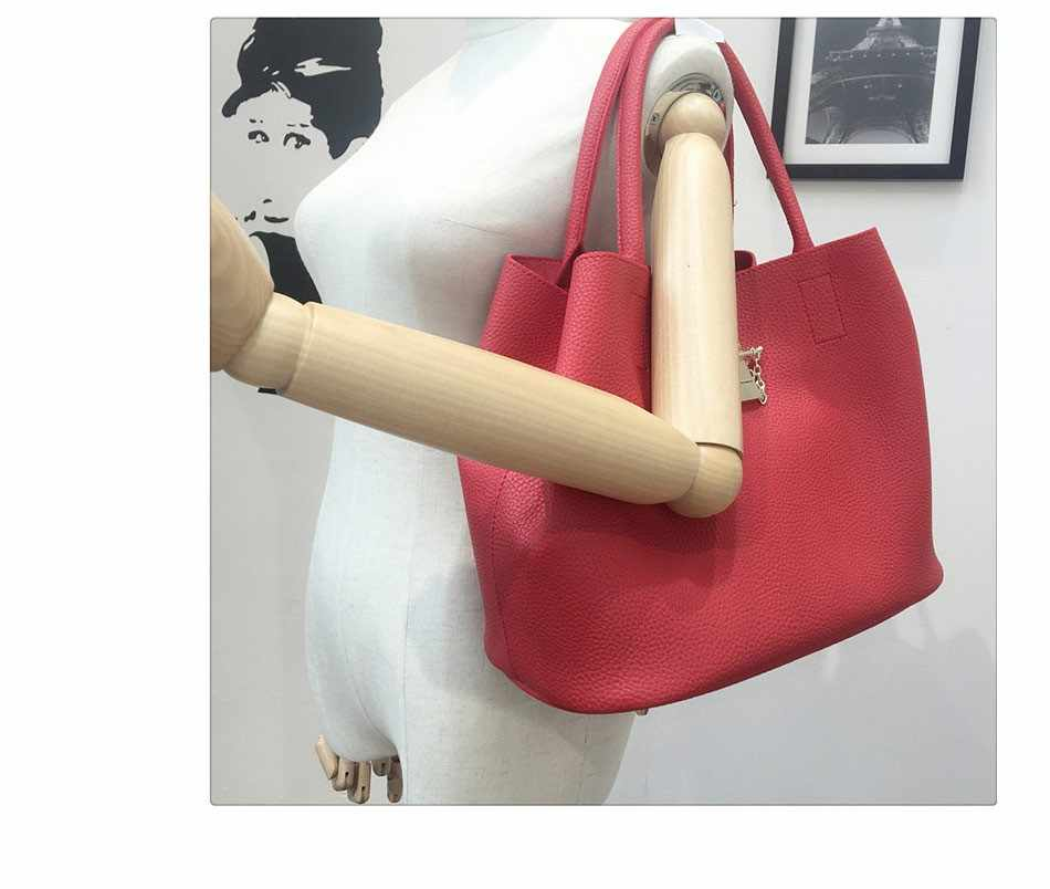 Swdf 2019 Fashion Wanita Kulit Tas Ponsel Messenger Tas Wanita Kulit PU Kualitas Tinggi Diagonal Cross Roti Tas Ibu