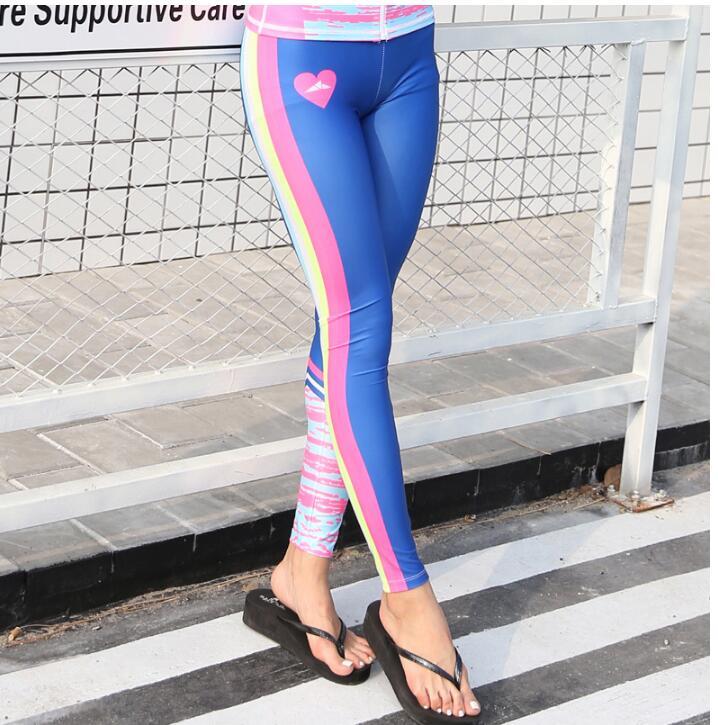 Femmes-Imprim-Rash-Guard-Pantalon -De-Bain-Humide-Costumes-Leggings-Collants-maillots-de-bain-Color-Imprim.jpg 01c5654471f