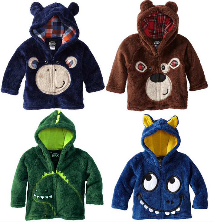 Aliexpress.com : Buy Winter Fleece Jackets For Children Boys ...