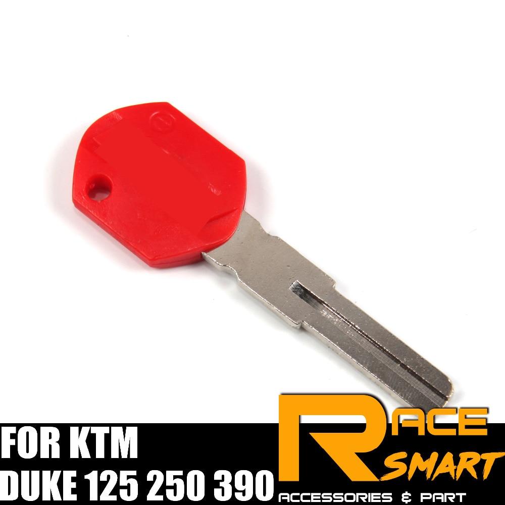 Motorcycle Uncut Blank Key For KTM DUKE 125 250 390 Blade Keys DUKE125 DUKE250 DUKE390 DUKE-125 DUKE-250 DUKE-390