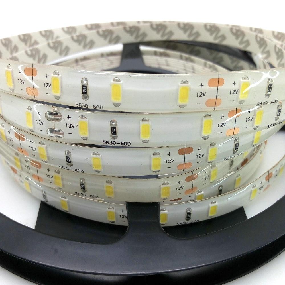 5m / Lot 5630 LED Strip 12V Fərqli Dekorasiya İşıqlandırma - LED işıqlandırma - Fotoqrafiya 3