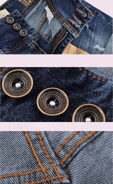 Summer New Women Thin Beaded Three-dimensional Hole High Waist Shorts Denim Shorts for Women Loose Plus Jeans Short