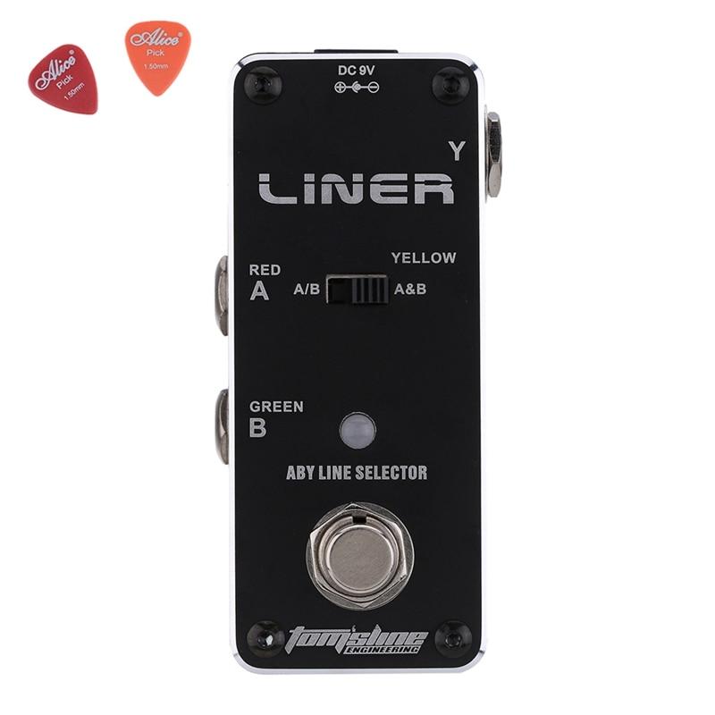Aroma ALR-3 Liner Aby Line Selector Guitar Effect Pedal Mini Singal Guitar Accessories  Aluminium Alloy komatsu alr 09by2 в москве