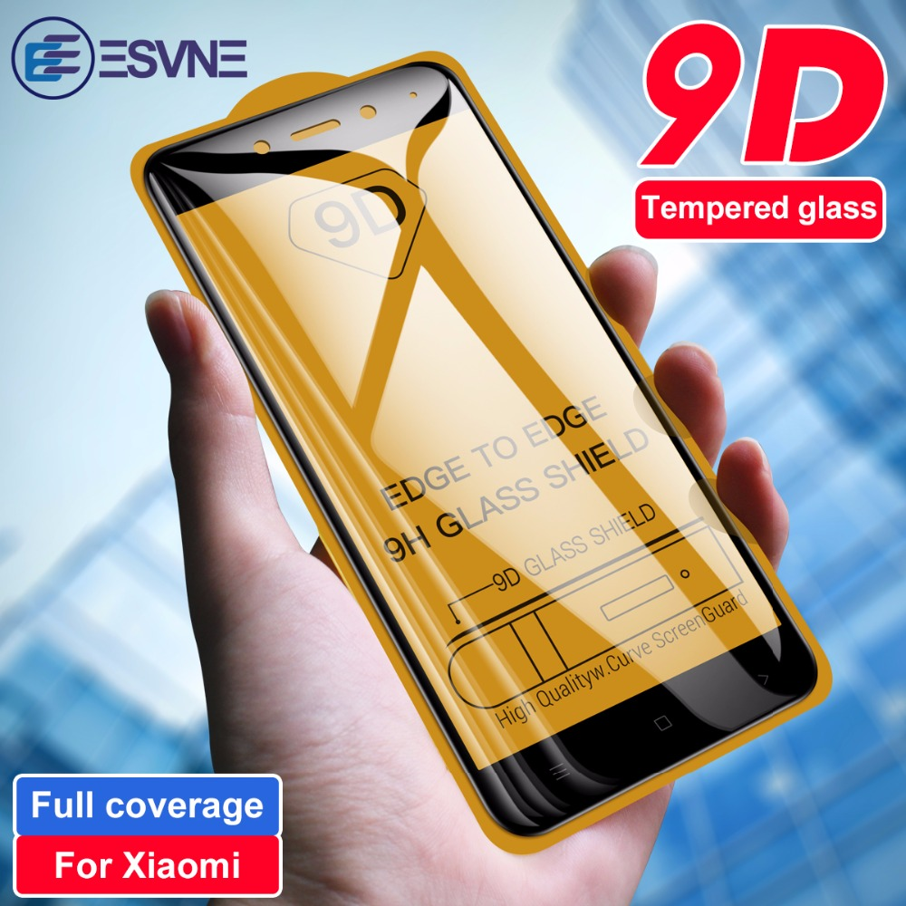 ESVNE 9D verre trempé pour Xiaomi redmi note 4 4x verre de protection sur redmi note 4 4X protecteur d'écran HD