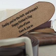 Personalized any text man Leather Belt groom anniversary Gifts