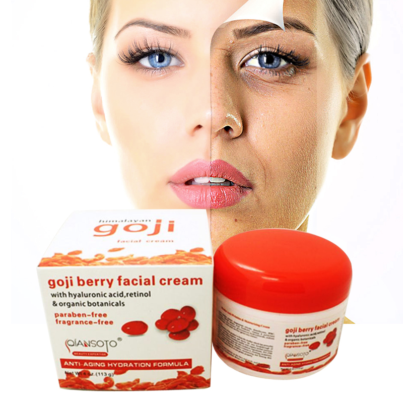 Goji berry facial cream rejuvenated skinfood goji cream skin whitening anti aging creme anti wrinkle face lift deep moisturizing цена