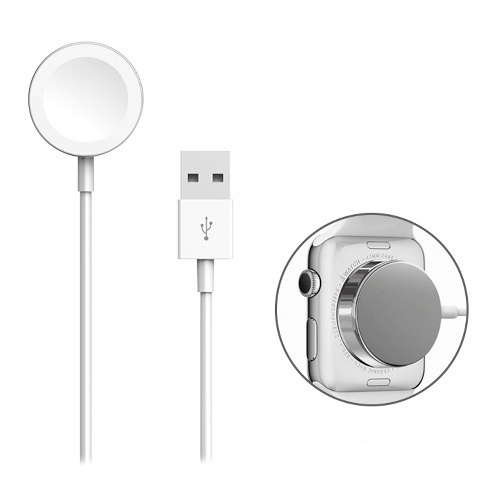 1M Magnetic Charging Cable for Apple Watch iWatch Wireless Micro USB Cable Smart Charger зарядное устройство для apple watch apple watch magnetic charging cable 0 3m mlla2zm a