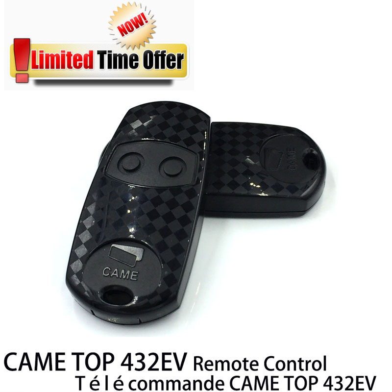 Limited Time Special Offer CAME TOP 432EV Radio Control Key fob Came transmitter Duplicator 433 92MHz
