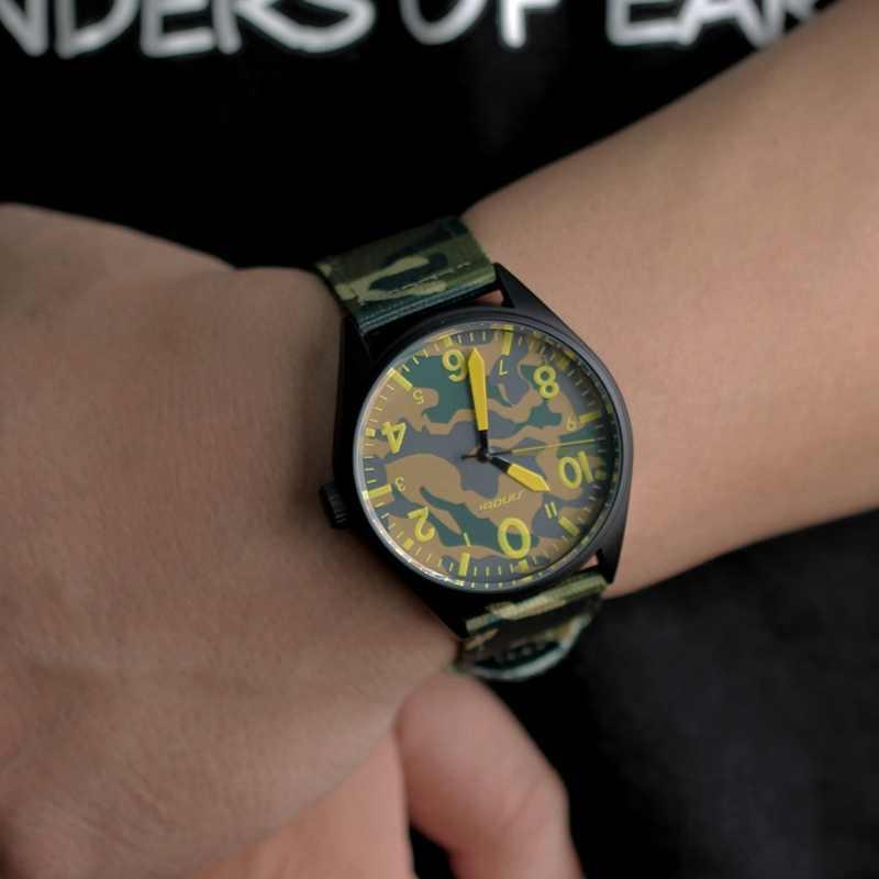 Men Nylon band Military watch Gemius Army watch High Quality Sinobi Quartz Japan Movement Men sports watch Casual wristwatches