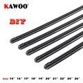 KAWOO coche vehículo insertar goma tira limpiaparabrisas (recarga) 8mm suave 14 16 17 18 19 20 21 22 24 26 28 1 piezas accesorios