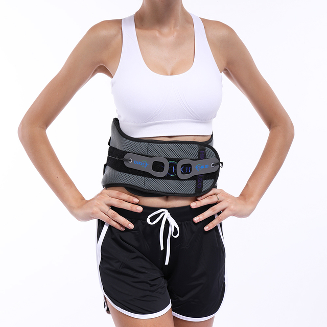 Lumbar Back Spinal Spine Waist Brace Support Belt Corset Stabilizer Cincher Tummy Trimmer Trainer Weight Loss Slimming 2