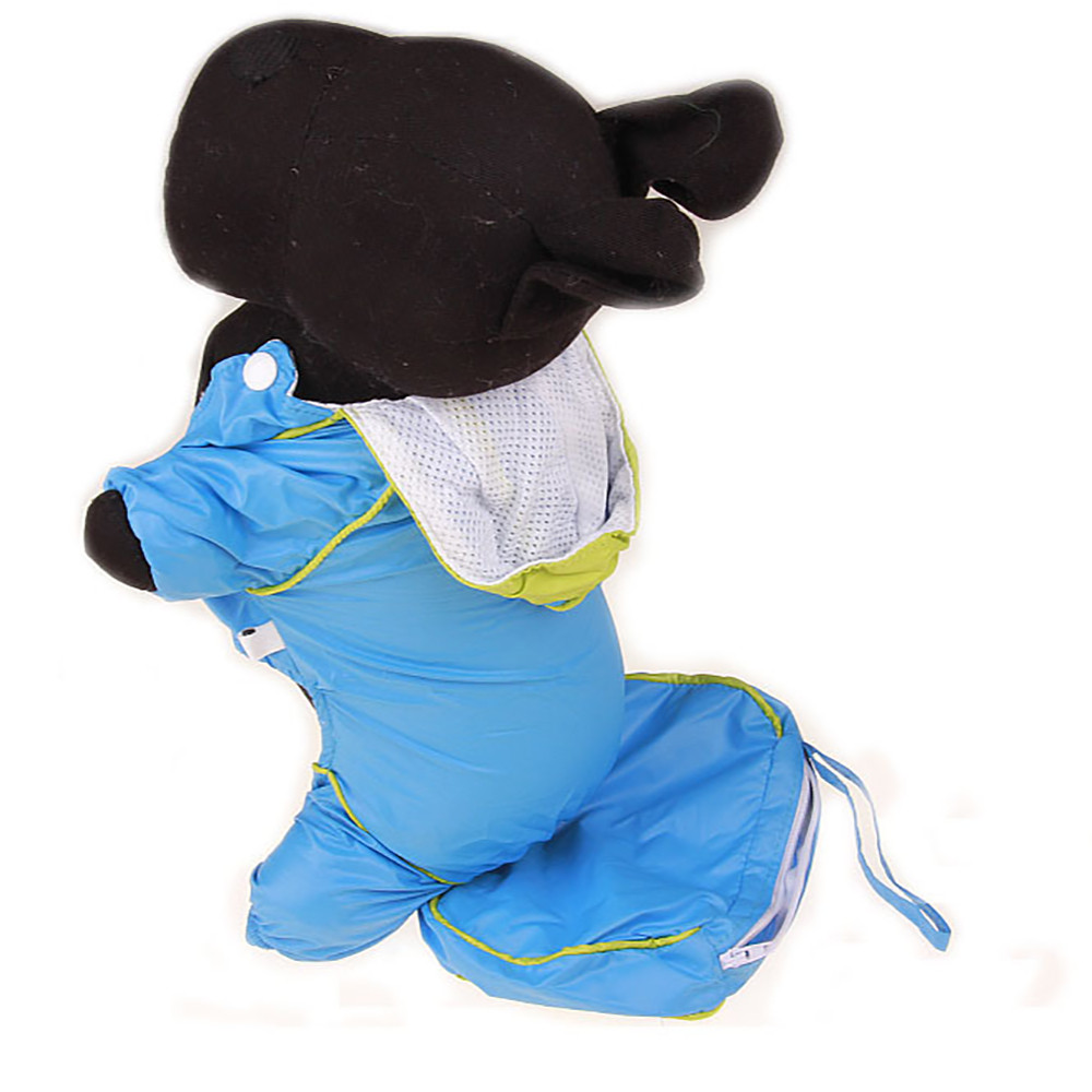 Small Dogs Costume Clothes For Little Dogs Overalls Pet Dog Puppy Rainwear Raincoat Pet Hooded Waterproof Jacket Clothes