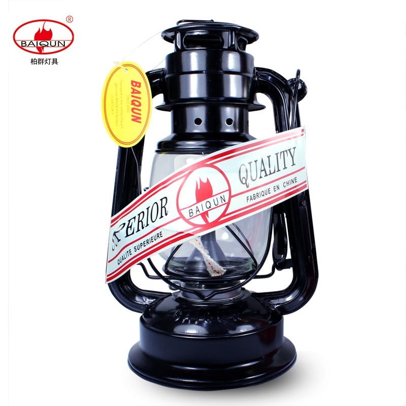 Vintage Kerosene Lamp Lantern Reminisced Camping Lights Outdoor Tent Light Emergency Portable Lights