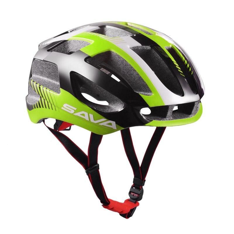 Цена за САВА Регулируемые Взрослых Велоспорт Шлем Велосипеда с Внутренней Обивка Комплексная Специализированная для Мужчины Женщины Защиты Безопасности 31 Отверстия